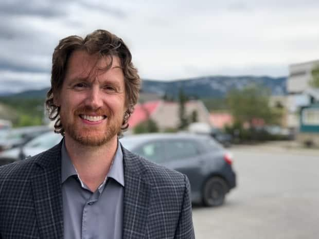 Jonas Smith is taking a second run at the riding of Yukon, this time as an independent after he was dropped by the Conservatives. (George Maratos/CBC - image credit)