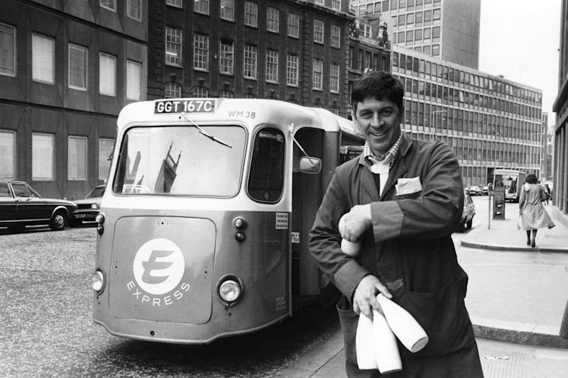 The traditional milkman is on the rise again (Getty Images)