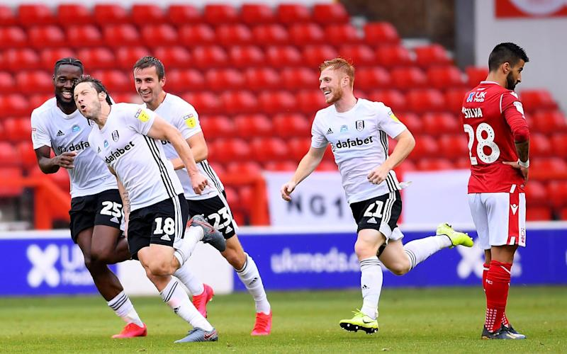 Harry Arter -Harry Arter strike gives Fulham priceless victory at fellow promotion hopefuls Nottingham Forest - GETTY IMAGES