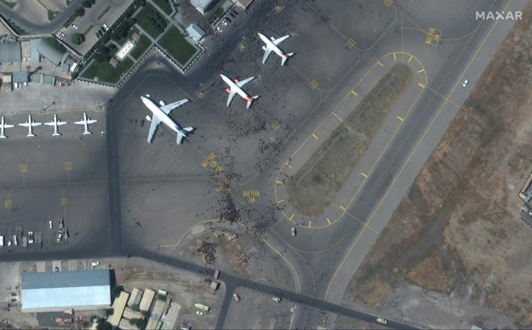 US officials have said the airport is in a bad condition, with much of its basic infrastructure degraded or destroyed (AFP/-)