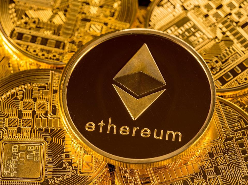 The price of ethereum (ether) bucked market trends to hit a new all-time high on 22 April, 2021 (Getty Images)
