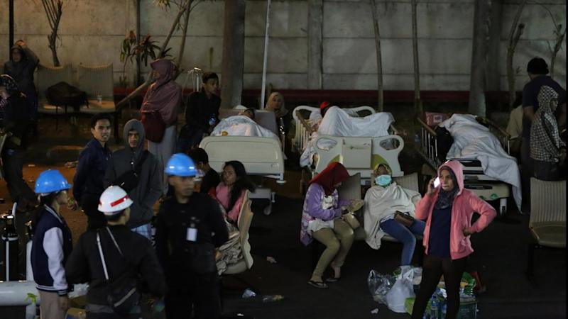 At least 82 people have died after a magnitude 7.0 earthquake hit Indonesia's Lombok Island