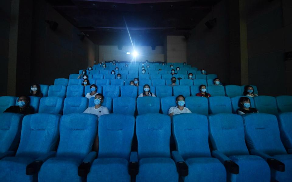 Cinemas reopened in China - Getty
