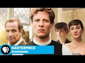 "<p>Based on a series of cozy mysteries by James Runcie, <em>Grantchester</em> is an old-fashioned whodunit. Our hero is Reverend Sidney Chambers, a handsome, jazz-loving, scotch-drinking Anglican priest in mid-century England, where he solves crimes in his pastoral parish alongside the gruff, overworked Inspector Geordie Keating. Sidney is compassionate, self-sacrificing to a fault, and above all, an excellent listener, which drives witnesses and criminals to confide in him with a confessional booth-style intimacy that local detectives can't inspire.</p><p><a class=""link rapid-noclick-resp"" href=""https://www.amazon.com/gp/video/detail/B089D4B88W?tag=syn-yahoo-20&ascsubtag=%5Bartid%7C10054.g.29251120%5Bsrc%7Cyahoo-us"" rel=""nofollow noopener"" target=""_blank"" data-ylk=""slk:Watch Now"">Watch Now</a></p><p><a href=""https://www.youtube.com/watch?v=s3tzFp5CeAU"" rel=""nofollow noopener"" target=""_blank"" data-ylk=""slk:See the original post on Youtube"" class=""link rapid-noclick-resp"">See the original post on Youtube</a></p>"