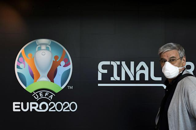 The entire soccer calendar, including Euro 2020, has been delayed, and that will affect at least the next couple of seasons. (Inquam Photos/Octav Ganea via REUTERS)