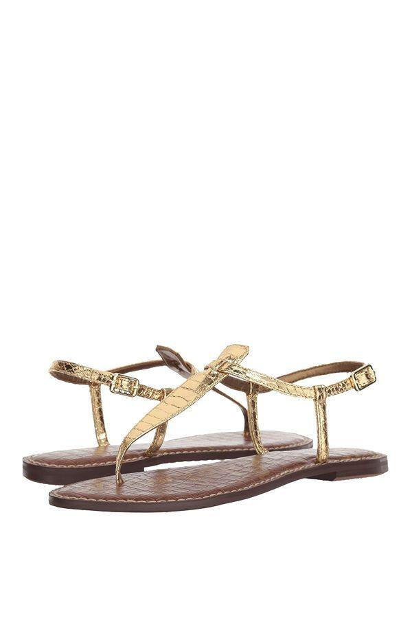 """<p><strong>Sam Edelman</strong></p><p>zappos.com</p><p><strong>$62.30</strong></p><p><a href=""""https://go.redirectingat.com?id=74968X1596630&url=https%3A%2F%2Fwww.zappos.com%2Fp%2Fsam-edelman-gigi-pink-mauve-kid-suede-leather%2Fproduct%2F7515478&sref=https%3A%2F%2Fwww.oprahdaily.com%2Fstyle%2Fg25893553%2Fbest-sandals-for-women%2F"""" rel=""""nofollow noopener"""" target=""""_blank"""" data-ylk=""""slk:Shop Now"""" class=""""link rapid-noclick-resp"""">Shop Now</a></p><p>The round-toe design of this classic thong sandal makes them roomier than others—plus, they come with a footbed that's lightly padded and lots of other color options. </p>"""
