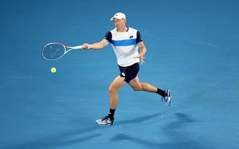 Millman pushes on against Federer - Credit: GETTY IMAGES