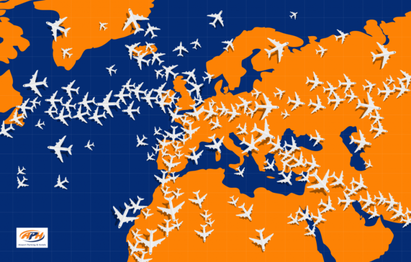 Can you spot the plane flying in the wrong direction on this map? Photo: APH