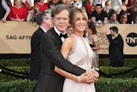 "<p><em>Desperate Housewives</em> actress Felicity Huffman and <em>Shameless </em>actor William H. Macy dated on-and-off for 15 years before finally marrying in 1997. H. Macy was 47, and Huffman was 35. ""I was so scared of marriage that I thought I would've preferred to step in front of a bus,"" Huffman told <a href=""http://triblive.com/aande/movies/7835836-74/says-lazy-huffman#axzz3SfMNYMQ7"" rel=""nofollow noopener"" target=""_blank"" data-ylk=""slk:Tribune News"" class=""link rapid-noclick-resp""><em>Tribune News</em></a> on her hesitation towards marriage. The couple has two daughters together.</p>"