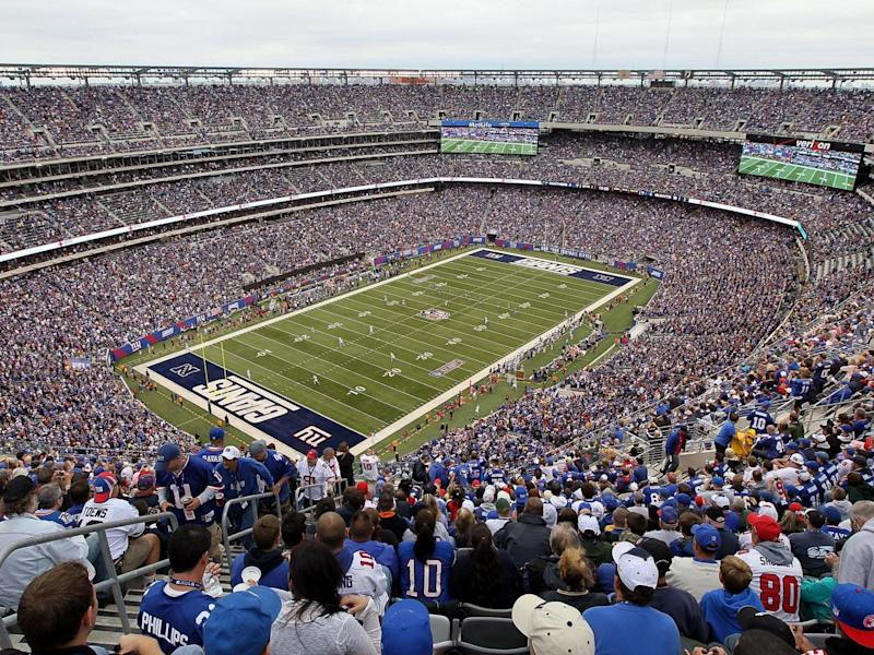 The 82,500 seat MetLife Stadium could be used to hold games (Getty)