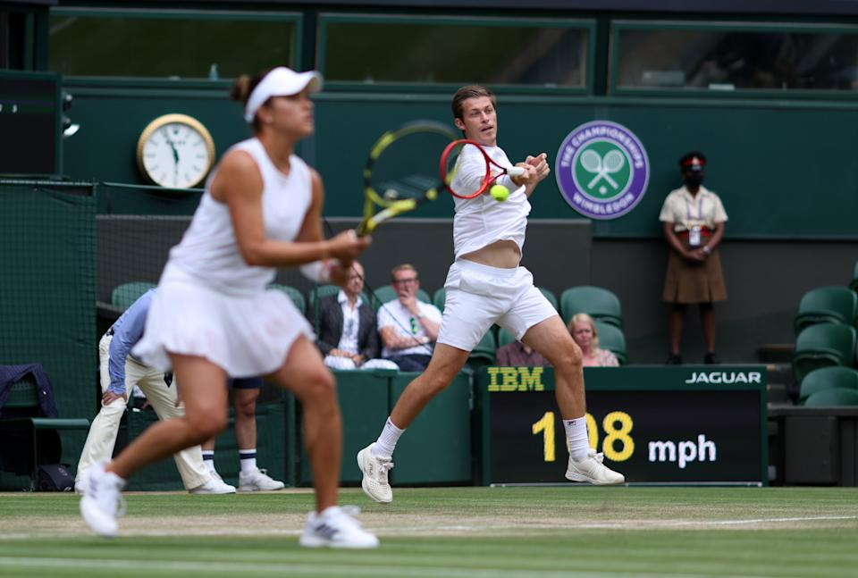 Wimbledon 2021 – Day Ten – The All England Lawn Tennis and Croquet Club (PA Wire)