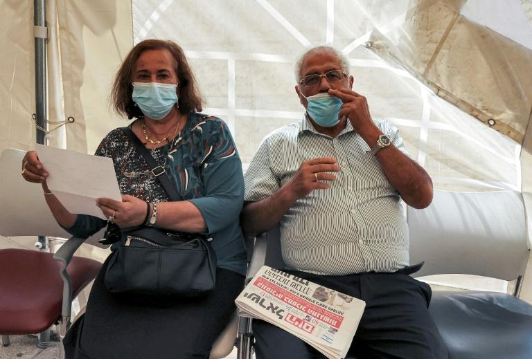 Israeli health ministry figures show the booster jabs have been effective in reducing Covid cases among the elderly, particularly severe cases (AFP/HAZEM BADER)