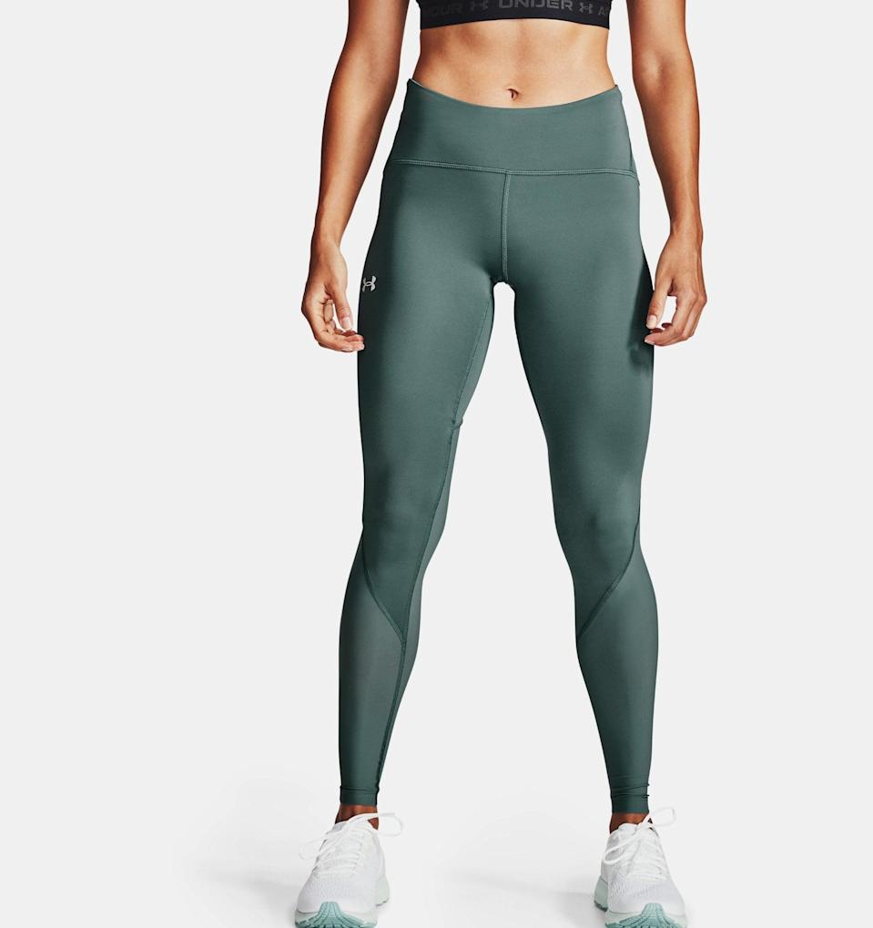 <p>For those who want tight but not skin tight, the <span>UA Fly Fast 2.0 HeatGear Tights</span> ($60) are Under Armour's most lightweight leggings. The Fly Fast fabric and the mesh knee panels allow for increased flexibility and mobility so you're ready for anything.</p>