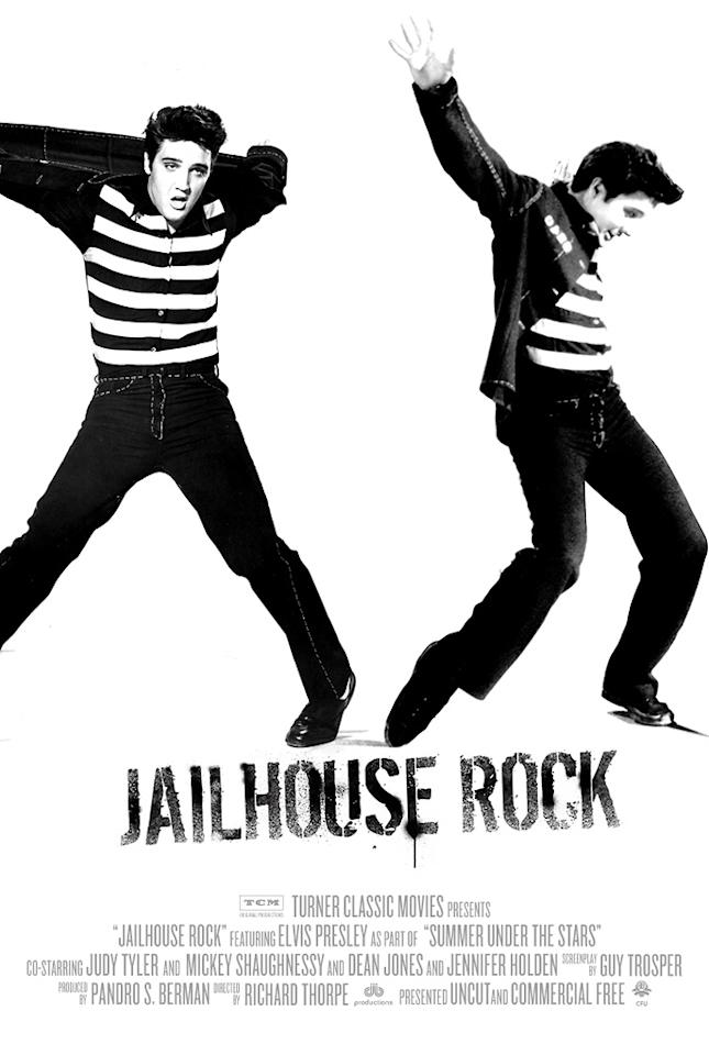 "<a href=""http://movies.yahoo.com/movie/contributor/1800038875"">Elvis Presley</a> - <a href=""http://movies.yahoo.com/movie/1800082456/info"">JAILHOUSE ROCK</a> (1957)   Turner Classic Movies' ""Summer Under the Stars"" Festival"
