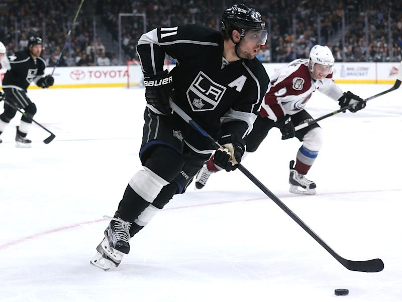 save off 7332a d1142 Anze Kopitar says 'plenty of time' for LA Kings contract to ...