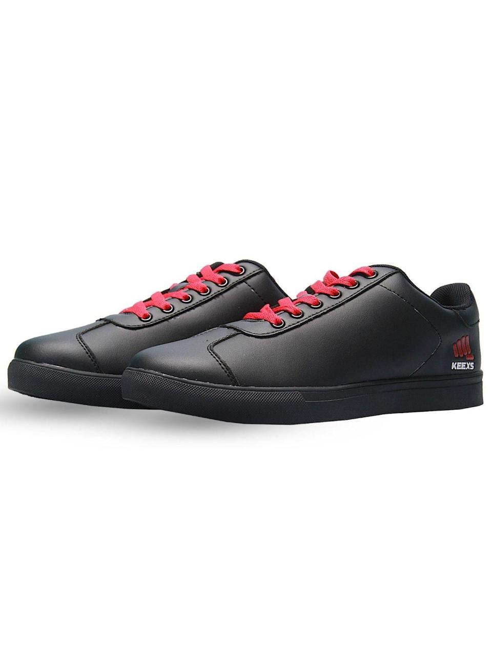 """<p><strong>classic</strong></p><p>keexs.com</p><p><strong>$99.00</strong></p><p><a href=""""https://keexs.com/us/product/keexs-black-pride-v3-0-classic-unisex-sneakers/"""" rel=""""nofollow noopener"""" target=""""_blank"""" data-ylk=""""slk:Shop Now"""" class=""""link rapid-noclick-resp"""">Shop Now</a></p><p>Keex's African-inspired range of sneakers are all about celebrating people, across cultures, borders, differences, skin color, and religion. The fact that they make some seriously cute designs is just a bonus.</p>"""