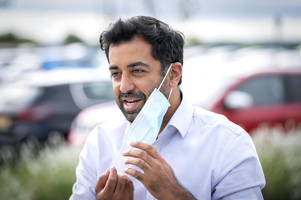 Scottish Health Secretary Humza Yousaf said he was looking for 'more information' from the UK Government (Jane Barlow/PA)