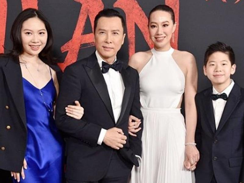 Cissy Wang gets Donnie Yen all to herself during quarantine