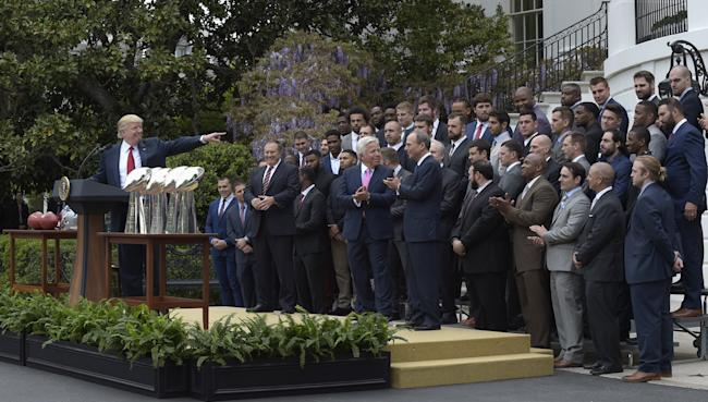 New England Patriots at the White House