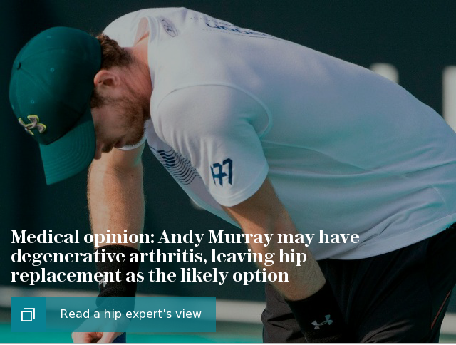 Andy Murray hip medical opinion