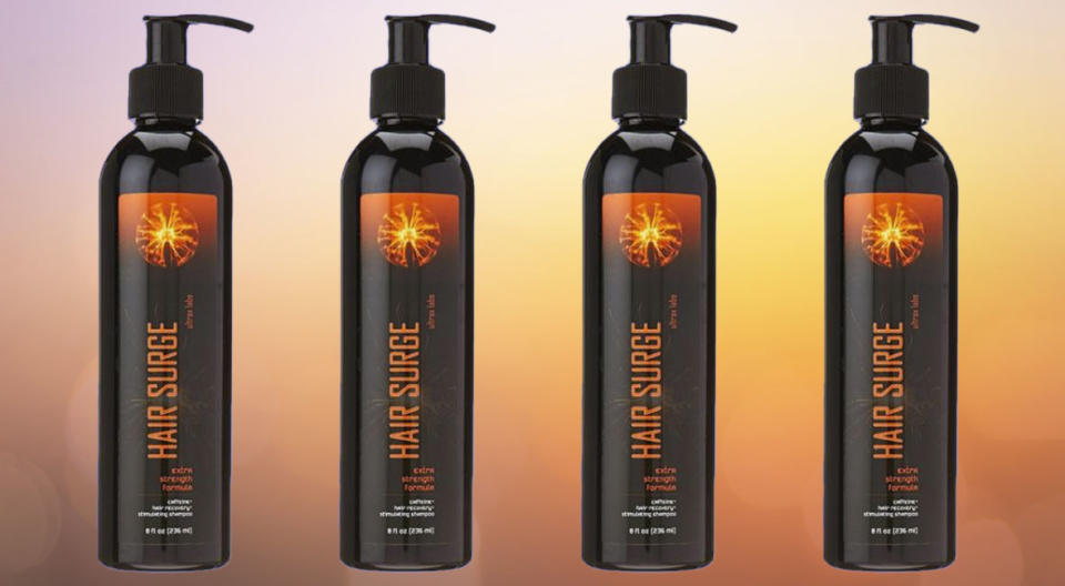Ultrox Labs Hair Surge Shampoo is your first step towards fuller heads of hair.  (Photo: Amazon)