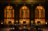 "<p>This London icon – open since 1889 and most famous for its art deco American Bar, which regularly tops best-bar-in-the-world lists – underwent a huge, £200-million facelift a decade ago and these days it's as stylish as ever. Set on the north bank of the Thames along the Strand, the hotel has several river-facing suites, some of which can currently be booked out for romantic dinners, thanks to the new Suite Dining Experience which lets you borrow a £2,000 suite for a few hours. It's also offering a staycation package that includes a handy early check-in and late check-out (since no one really has to be anywhere these days), a parking space and a £100 (£250 for suites) credit. </p><p>From £520 a room a night (<a href=""https://www.thesavoylondon.com/"" rel=""nofollow noopener"" target=""_blank"" data-ylk=""slk:thesavoylondon.com"" class=""link rapid-noclick-resp"">thesavoylondon.com</a>).</p>"