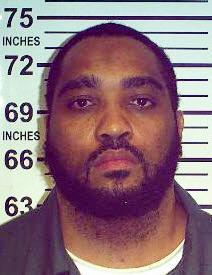 In this June 15, 2011 photo provided by the New York State Department of Correctional Services and Community Supervision, prison inmate Todd Scott is shown. Scott, who was sentenced to 25 years to life in prison in 1989 for participating in the 1988 murder of rookie New York City Police Officer Edward Byrne, will go before a New York parole board in November 2012. (AP Photo/New York State Department of Correctional Services and Community Supervision)