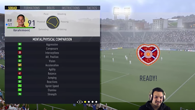 Zlatan Ibrahimovic is an absolute monster on FIFA 17, with the 90-rated striker destroying many defences, particularly off of the service of the over-powered Anthony Martial. The 35-year-old is one of the finest strikers in world football, but apparently, in the virtual world, he isn't too bad in goal either. Yes, you read that correctly, the Swede is pretty handy between the sticks. YouTuber Hitman89 placed the giant forward in goal and despite his terrible ratings in the position, he was...