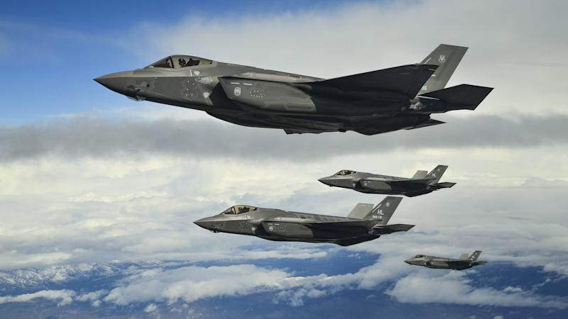 US sends newest F-35 stealth fighters to Europe