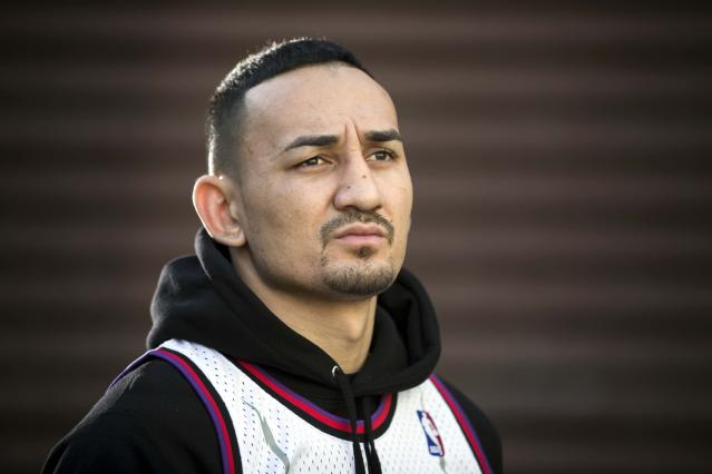 Max Holloway is headlining UFC 231 top contender Brian Ortega at the Scotiabank Arena on Dec. (Getty Images)