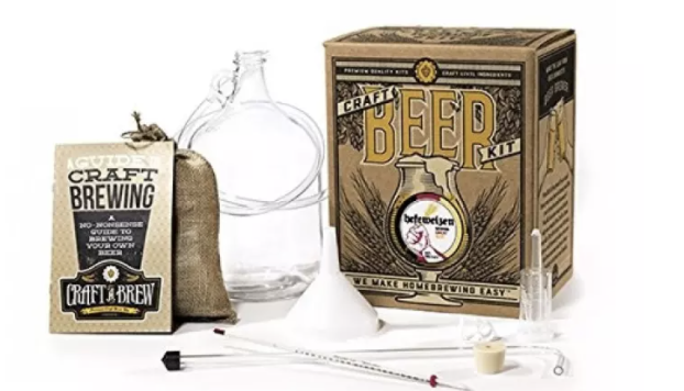 Home Brewing Kit for Beer. PHOTO: Lazada
