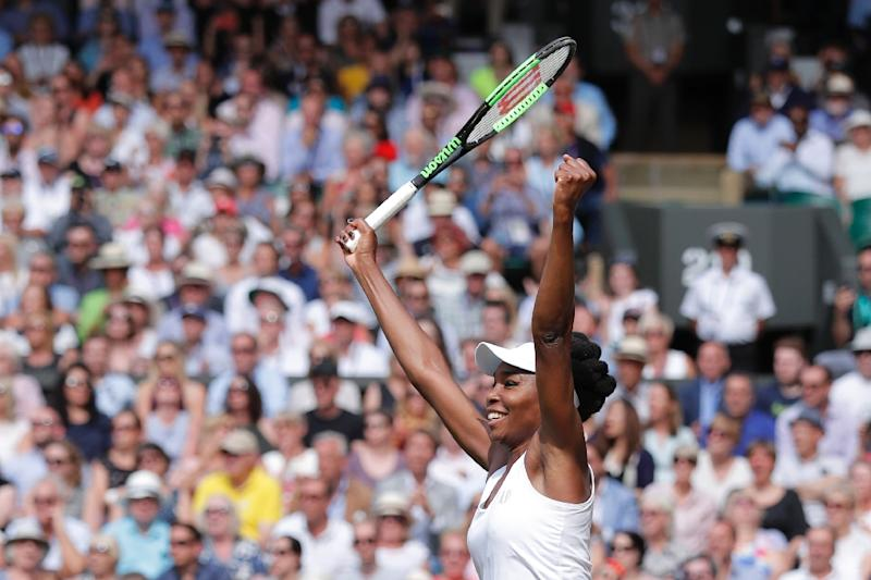 Muguruza stuns Venus to win first Wimbledon title