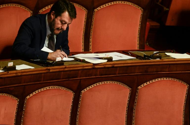 Far-right strongman Matteo Salvini accuses Five Star and the Democratic Party, which had long despised each other, of wedding purely over their dislike for him