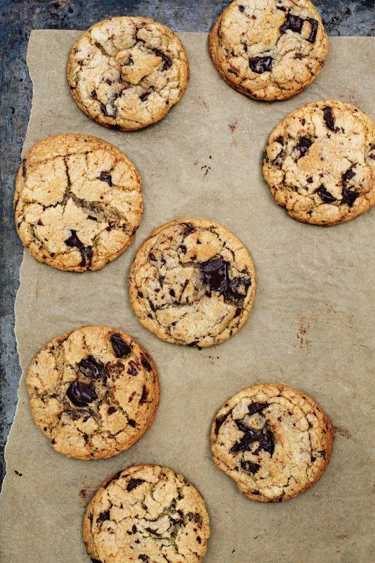 Basic great chocolate chip cookies recipe from yahoo foods cookbook of the week seven spoons forumfinder Image collections
