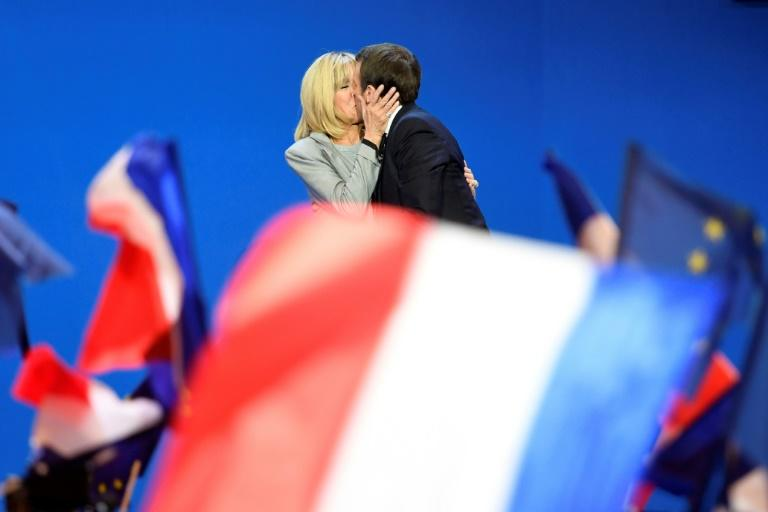 Brigitte, 64, has known Emmanuel since the now  president-elect was 15