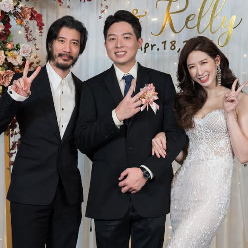 The singer attended a wedding in April looking like an Asian sibling of Keanu Reeves