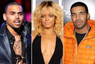"<p>Rihanna's ex-boyfriend Chris Brown and Drake got into physical altercation at a club in NYC, reportedly over the singer, who wanted no part of that quarrel. ""There's no proof of that being for my love,"" she told <a href=""http://www.gq.com/story/rihanna-cover-story-gq-men-of-the-year-2012"" rel=""nofollow noopener"" target=""_blank"" data-ylk=""slk:GQ."" class=""link rapid-noclick-resp""><i>GQ.</i></a> ""That's my answer to that question."" Fortunately, Drake loves to talk about his feelings, and confirmed the brawl was over Rihanna. ""It's embarrassing, the amount of media coverage,"" he later told <a href=""http://www.gq.com/story/rapper-drake-in-america-july-2013?currentPage=1"" rel=""nofollow noopener"" target=""_blank"" data-ylk=""slk:GQ."" class=""link rapid-noclick-resp""><i>GQ.</i></a> ""Two rappers fighting over the woman."" (Photos: Getty Images/WireImage/FilmMagic) </p>"