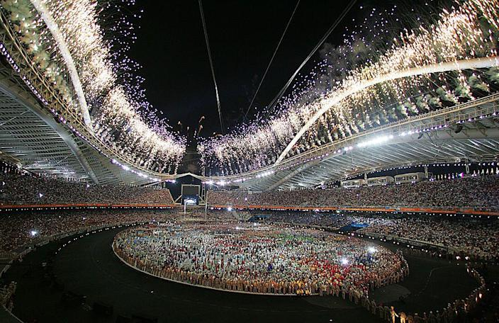 """<p>In displays of choreography, music, light, and, yes, fireworks, the Winter Games celebrate Italian culture. Memorable moments include <a href=""""http://edition.cnn.com/2006/SPORT/02/10/olympics.ceremony/"""" rel=""""nofollow noopener"""" target=""""_blank"""" data-ylk=""""slk:North and South Korea marching together"""" class=""""link rapid-noclick-resp"""">North and South Korea marching together</a> in unity, and a eulogy for peace by Yoko Ono. </p>"""