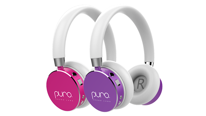 Protect your children's ears with these volume-limiting headphones from Puro.