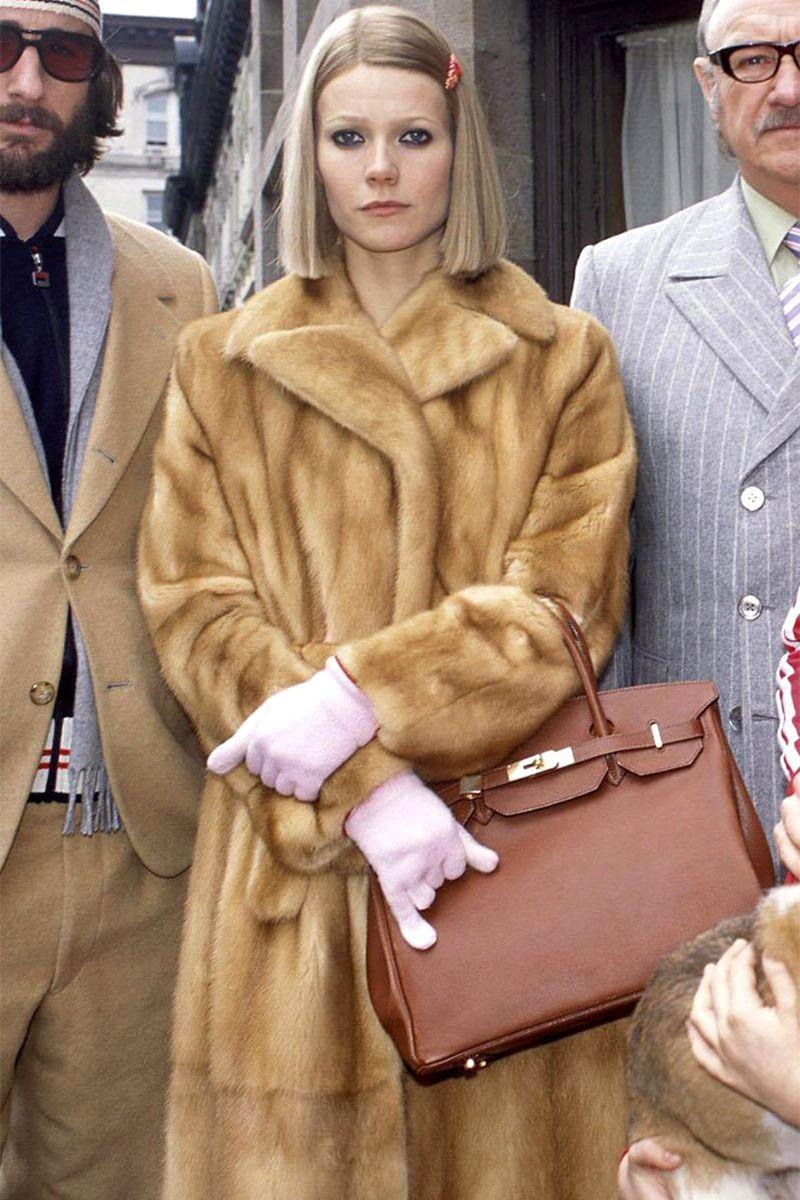 """<p>There are endless movie costume opportunities to choose from, but Gwyneth Paltrow's character in <em>The Royal Tenenbaums</em> remains one of the most glam of all. And even better, it gives you an excuse to buy a new faux-fur coat for the season. <br></p><p><strong>Get the look: Deveaux </strong>Victoria faux fur coat, $277, <a href=""""https://click.linksynergy.com/deeplink?id=6Km1lFswsiY&mid=43172&murl=https%3A%2F%2Fwww.mytheresa.com%2Fen-us%2Fdeveaux-new-york-victoria-faux-fur-pea-coat-1712051.html"""" rel=""""nofollow noopener"""" target=""""_blank"""" data-ylk=""""slk:mytheresa.com"""" class=""""link rapid-noclick-resp"""">mytheresa.com</a>. </p><p><a class=""""link rapid-noclick-resp"""" href=""""https://click.linksynergy.com/deeplink?id=6Km1lFswsiY&mid=43172&murl=https%3A%2F%2Fwww.mytheresa.com%2Fen-us%2Fdeveaux-new-york-victoria-faux-fur-pea-coat-1712051.html"""" rel=""""nofollow noopener"""" target=""""_blank"""" data-ylk=""""slk:SHOP""""> SHOP</a> </p>"""