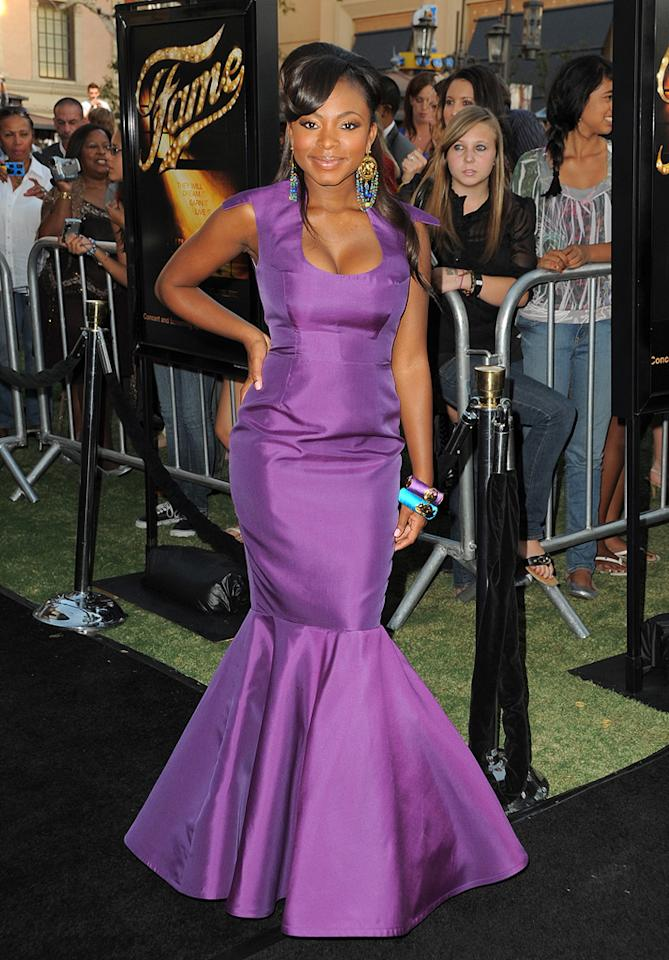 "<a href=""http://movies.yahoo.com/movie/contributor/1809921443"">Naturi Naughton</a> at the Los Angeles premiere of <a href=""http://movies.yahoo.com/movie/1810033914/info"">Fame</a> - 09/23/2009"