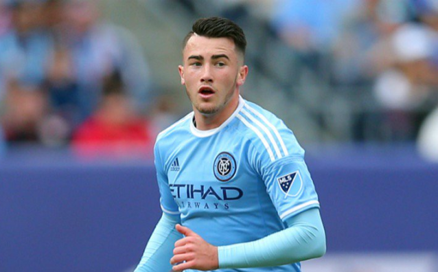 Former Manchester United academy product Jack Harrison is thriving with NYCFC. (NBC Sports)