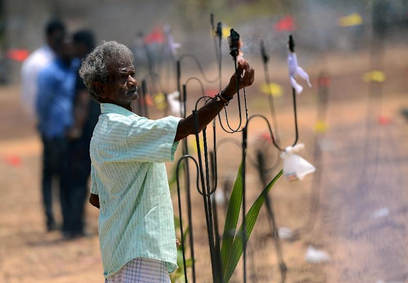 Members of the 2.5-million-strong Tamil community mourned their war dead on Saturday