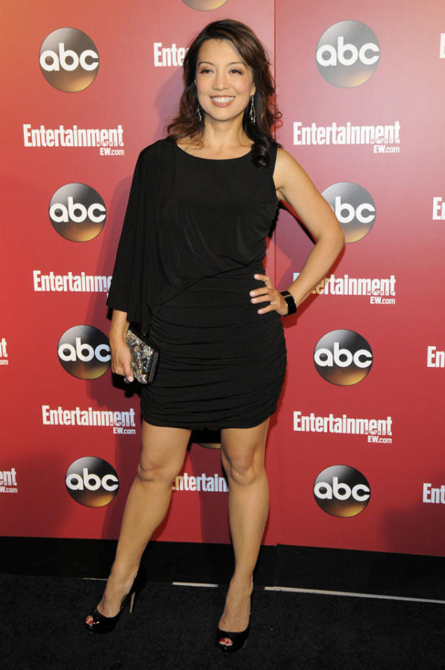 "Ming-Na Wen (""Marvel's Agents of S.H.I.E.L.D."") attends the Entertainment Weekly & ABC 2013 New York Upfront Party at The General on May 14, 2013 in New York City."