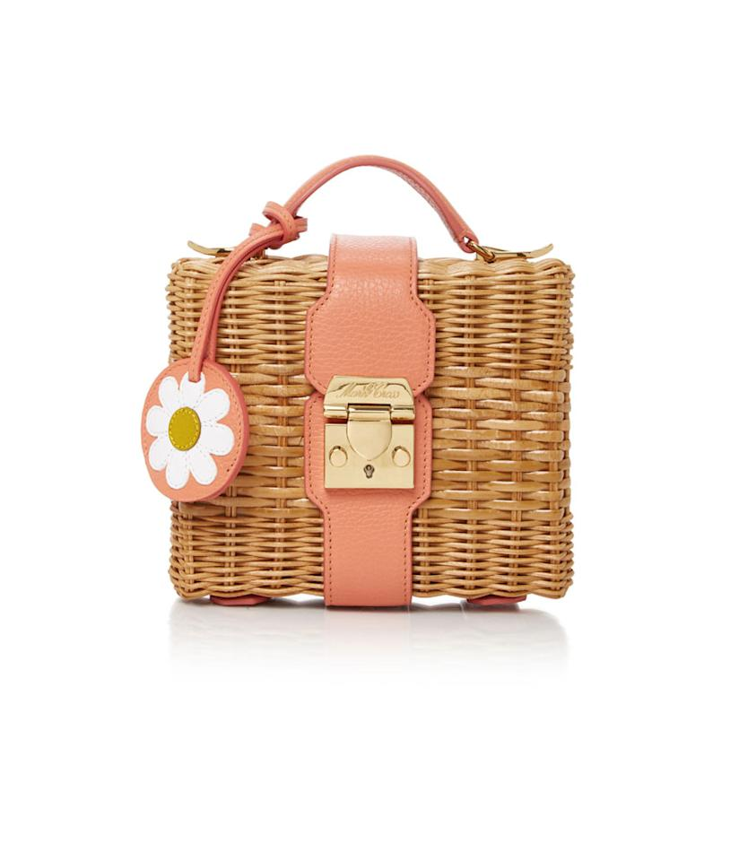 "<p>Leather-Trimmed Rattan Shoulder Bag, $2,095, <a rel=""nofollow"" href=""https://www.modaoperandi.com/mark-cross-r17/x-hvn-harley-leather-trimmed-rattan-shoulder-bag?utm_source=polyvore&utm_medium=cpc&utm_campaign=shoulder%20bags&size=OS"">modaoperandi.com</a>. </p>"