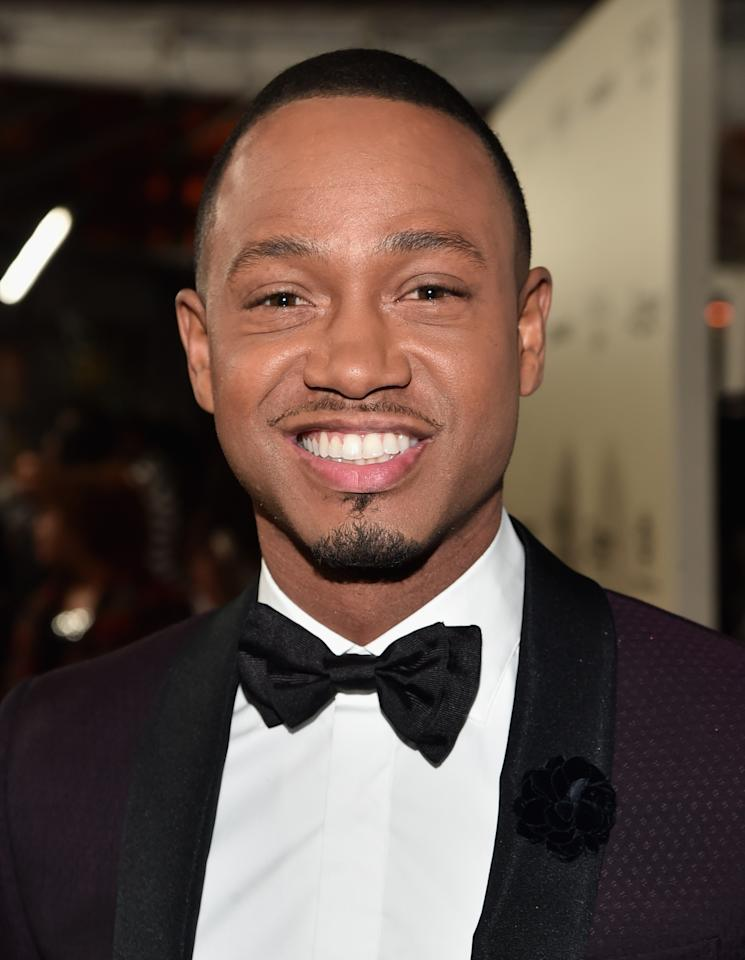 <p>Sought-after TV host, actor, and model, Terrence J. graduated from North Carolina A&T University in 2004. In 2015, he donated $100,000 to the school's journalism and mass communications program. (Photo: Getty Images) </p>