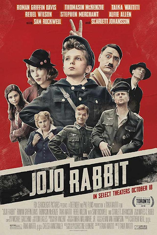 Absolutely loved this movie. Taika Waititi finds humour in the most grim situations with such a simple story about a young boy in Hitler's army, who finds out his mother is hiding a Jewish girl in their home. Everything about this movie was *chef's kiss*. Watch it before it goes from the theatres.