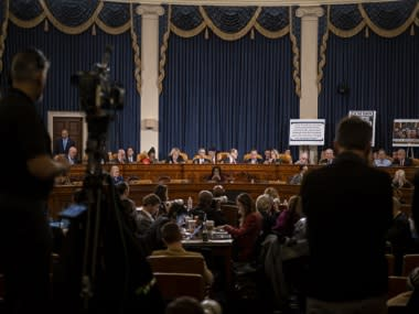 House Judiciary Committee grinds through Republican objections to impeachment articles against Donald Trump