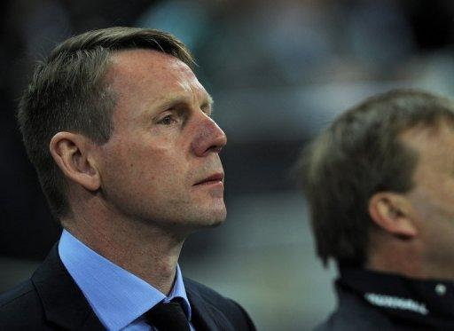 Stuart Pearce (pictured) has been England's temporary coach since Fabio Capello's resignation in February
