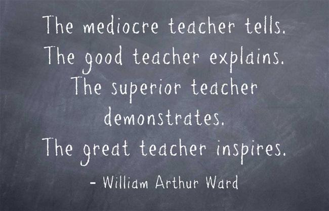 5 Teacher Appreciation Quotes to Post on Facebook, Twitter